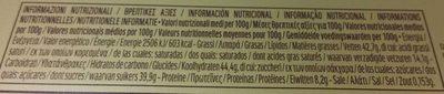 Ferrero rocher t30 boite de 30 pieces - Nutrition facts - fr