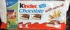 kinder chocolate with cereals - Product