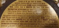 Grand ferrero rocher moulage - Ingrediënten - fr