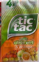 Tic tac duo t4 t(33x4) pack de 4 etuis - Produit - fr