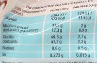 Kinder bueno mini fines gaufrettes enrobees de chocolat au lait fourrees lait et noisettes sachet de 20 pieces - Valori nutrizionali - fr