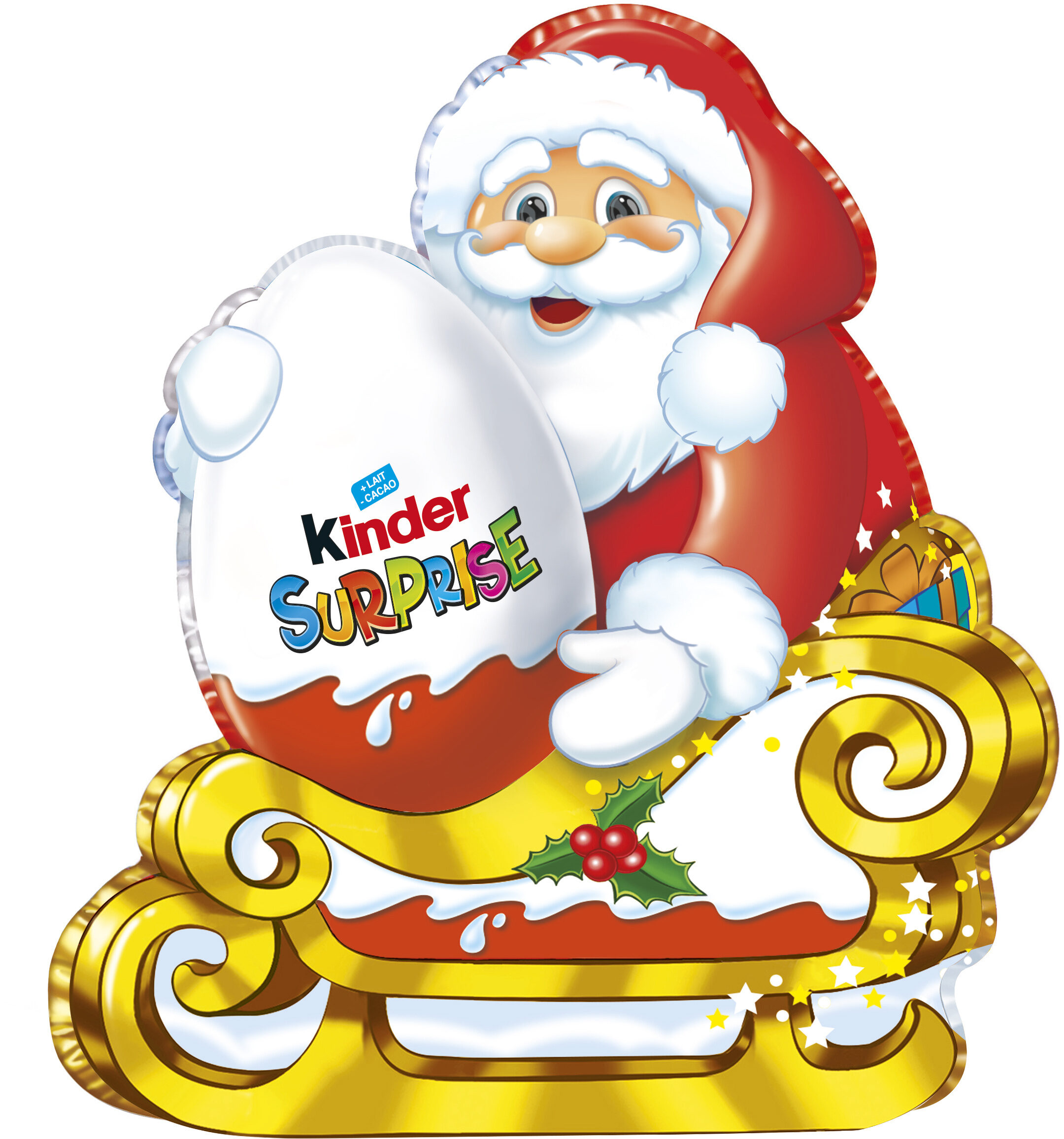 Kinder moulage 75g avec surprise père noel - Prodotto - fr