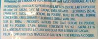 Chocolat Happy - Ingrediënten - fr