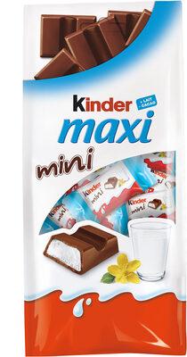 Kinder Maxi Mini - Prodotto