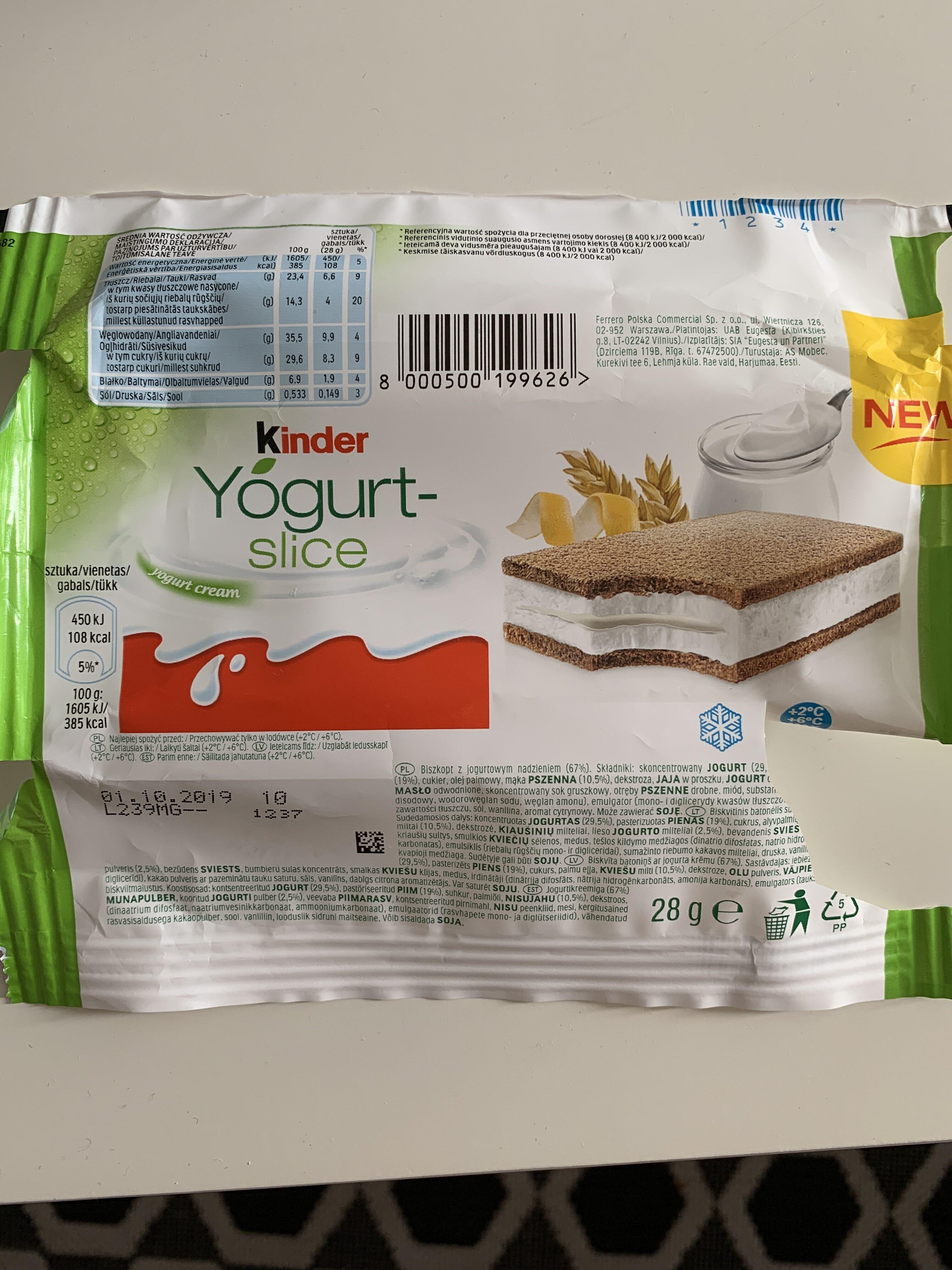 Biszkopt z jogurtowym nadzieniem 67% - Prodotto - pl