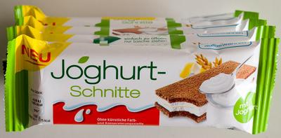Joghurt-schnitte - Produkt