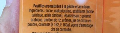 Tic Tac Goût Fraise Smoothie Banane - Inhaltsstoffe - fr