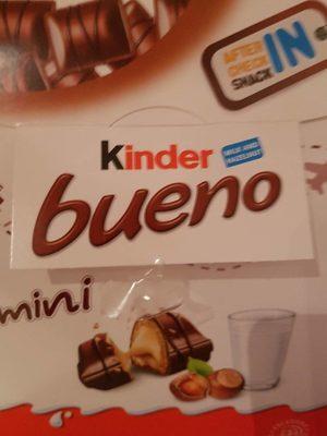 Chocolate Kinder Bueno Mini - Product - fr