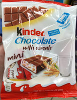 Chocolate with cereals - Product