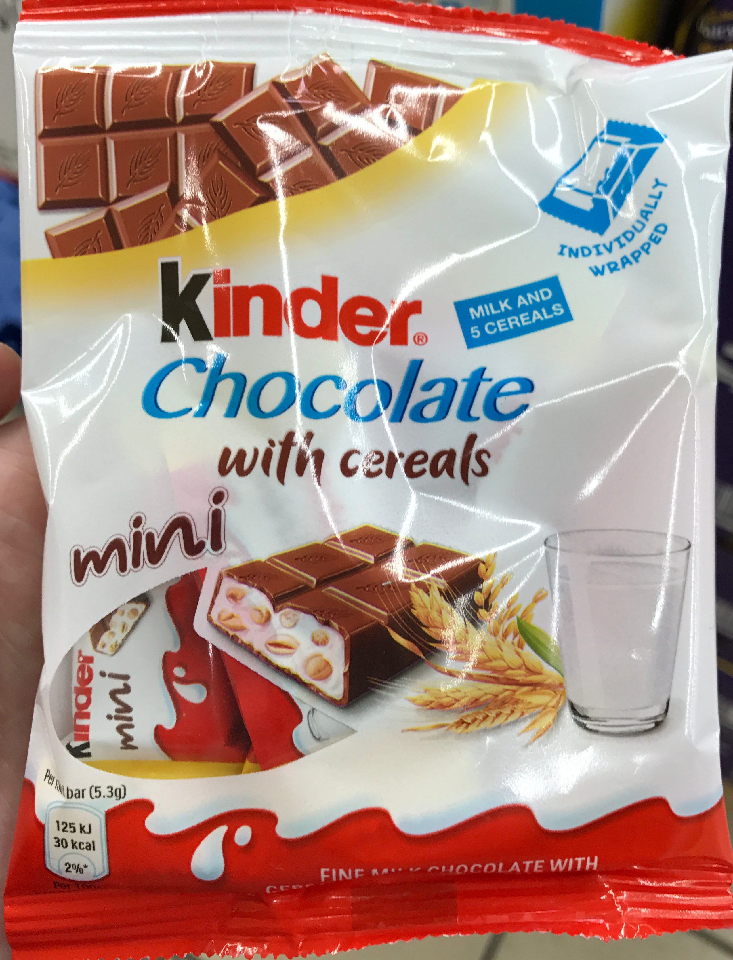 Chocolate With Cereals Kinder 265 G
