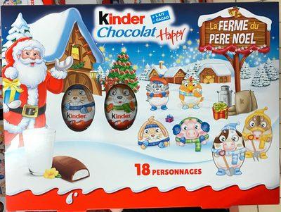 kinder chocolat happy la ferme du p re no l ferrero. Black Bedroom Furniture Sets. Home Design Ideas