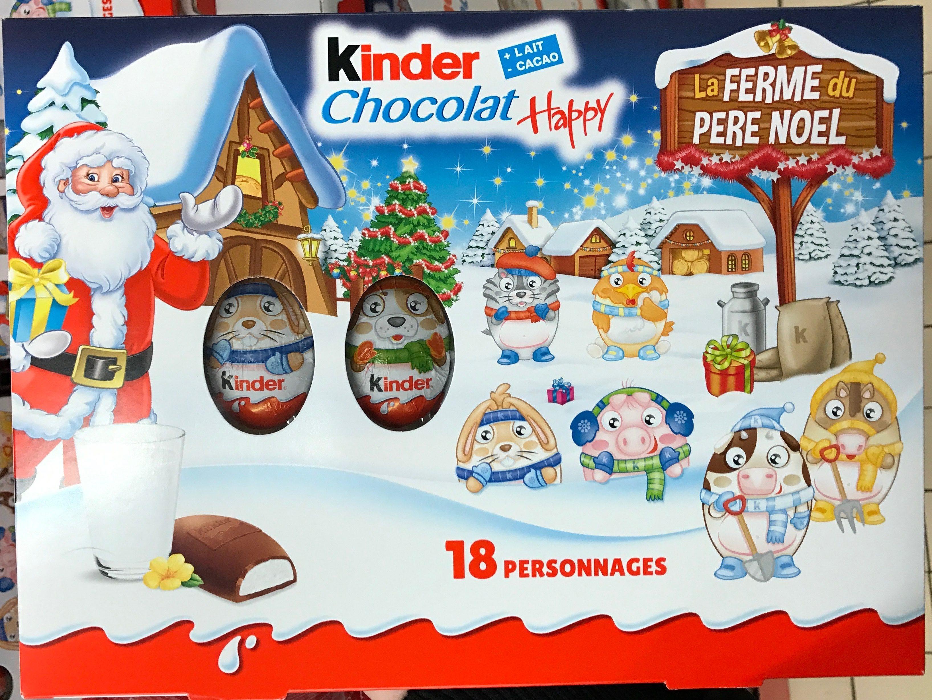 kinder noel Kinder Chocolat Happy La Ferme du Père Noël   Ferrero   153 g e kinder noel