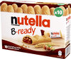 Nutella b-ready t10 etui de 10 pieces - Product