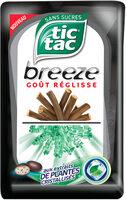 Tic tac breeze gout réglisse - Product