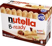 NUTELLA B-READY biscuits 330g paquet de 15 pièces - Prodotto - fr