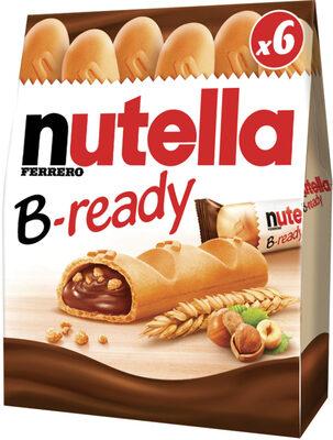 NUTELLA B-READY biscuits 132g paquet de 6 pièces - Product - en
