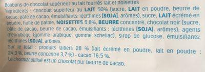 Schoko-bons - Ingredients