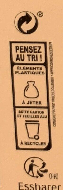 Kinder calendrier de l avent livre - Instruction de recyclage et/ou informations d'emballage - fr
