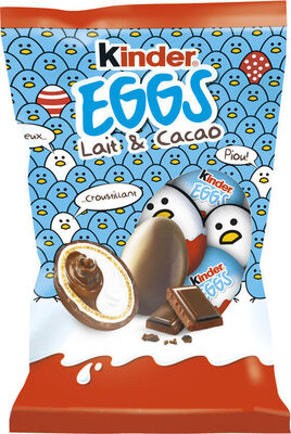 Kinder 12 petits oeufs cacao - Prodotto - fr
