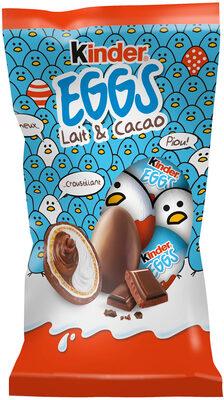 Kinder 12 petits oeufs cacao - Produit - fr
