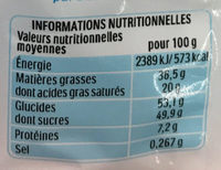 Kinder 12 petits oeufs cacao - Informations nutritionnelles - fr