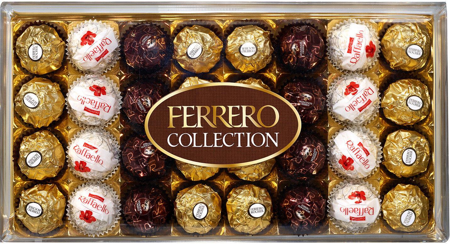 Ferrero collection assortiment de chocolats boite de 32 pieces - Produit - fr