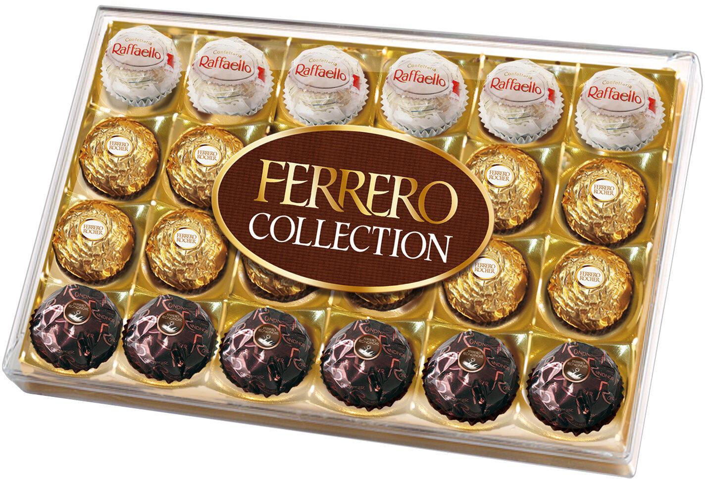 Ferrero collection assortiment de chocolats boite de 24 pieces - Produit - fr