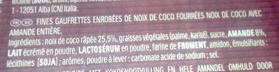 Ferrero Collection - Ingrediënten - fr