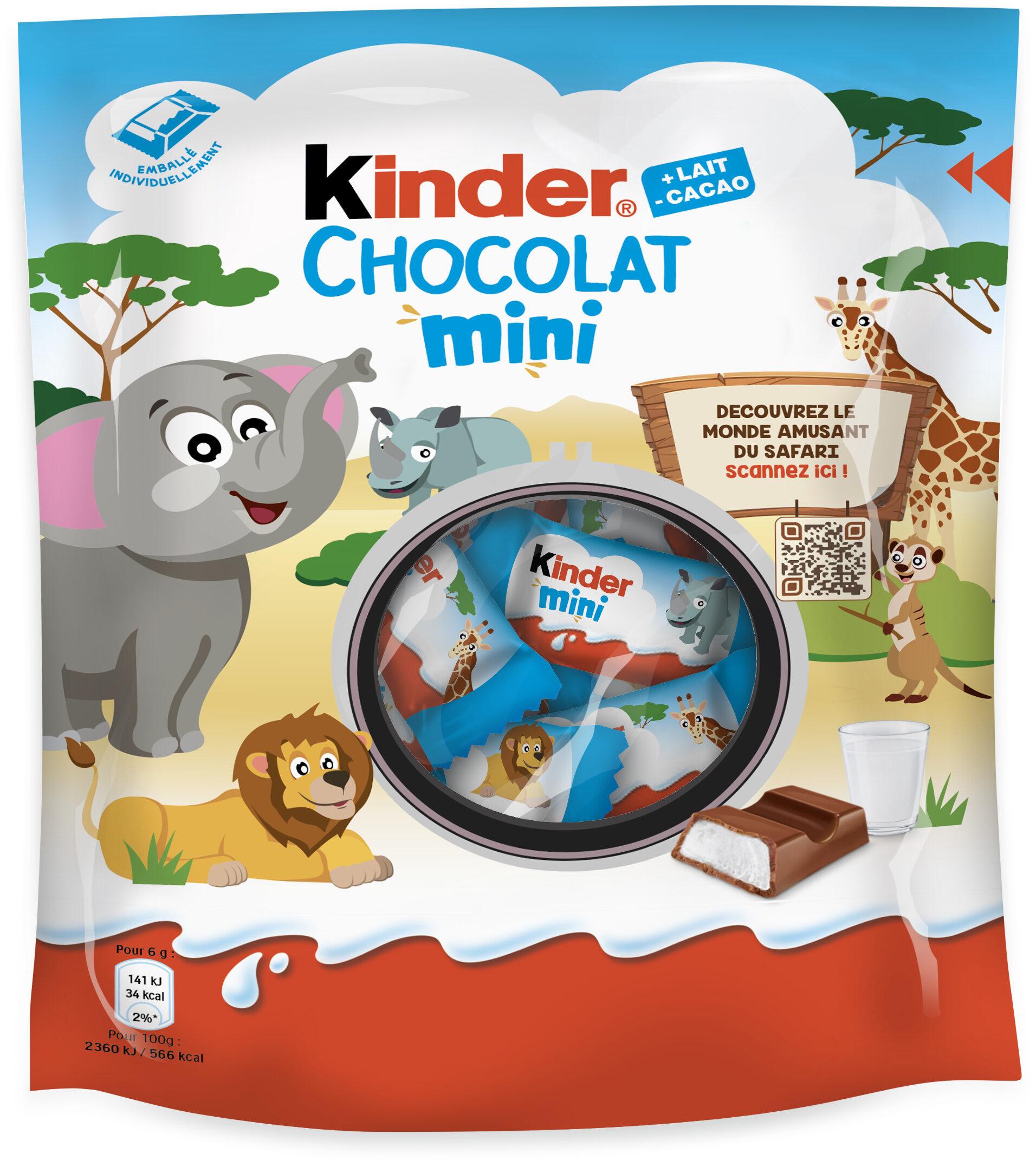 Kinder chocolat mini t20 sachet de 20 pieces - Producto - fr