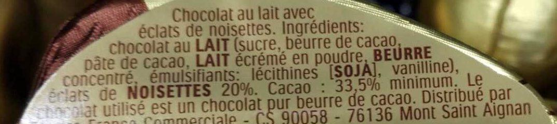 Pâques Ferrero Rocher écureuil - Ingredienti - fr