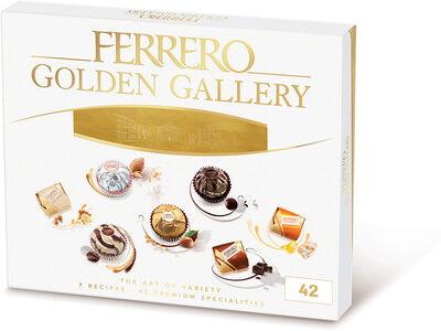 Ferrero golden gallery assortiment de chocolats boite de 42 bouchees - Prodotto - fr