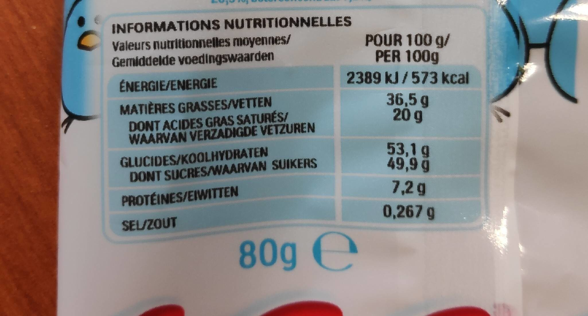 Eggs - Nutrition facts - it