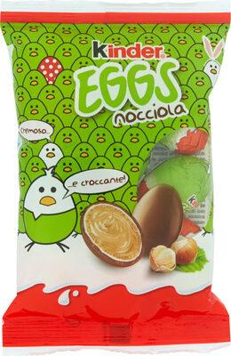 Eggs Lait & Noisettes - Product - de