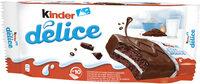 Kinder delice cacao gateau enrobe au cacao et fourre au lait t10 pack de 10 pieces - Product - fr