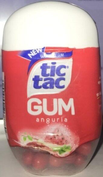 Tic tac gum - Product - fr