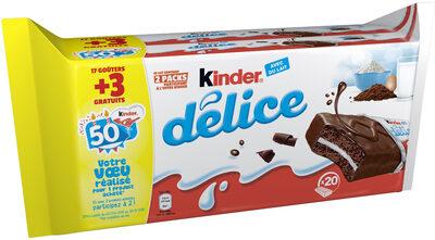 Kinder Delice Cacao +3 Grat N Poids - Product
