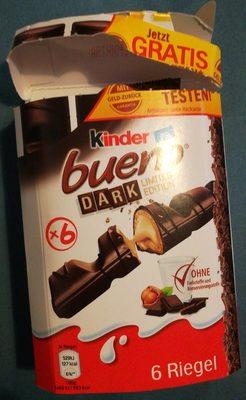 Kinder Bueno dark - Produit