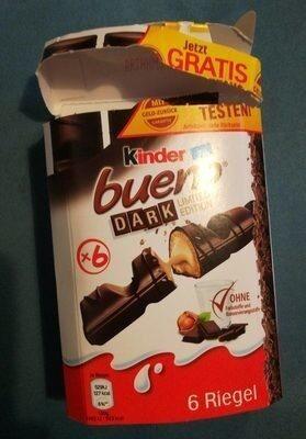 Kinder Bueno dark - Product - de