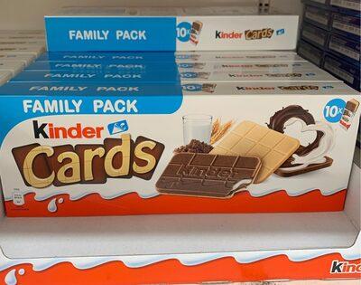 Kinder cards - Produit - fr