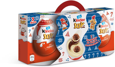 Kinder joy t3 pack de 3 pieces boite de 3 œufs - Prodotto - fr