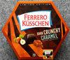 Ferrero Küsschen Dark Crunchy Caramel - Produit