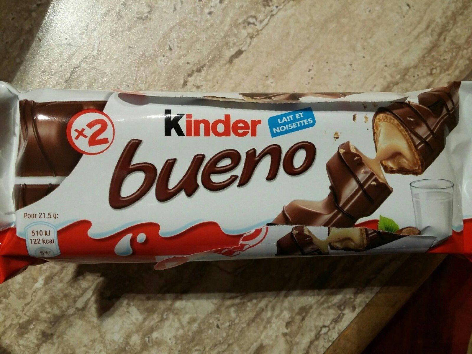 Kinder Bueno - Prodotto - fr