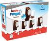 Kinder pingui gouter frais genoise avec chocolat noir extra, fourree lait et cacao t8 pack de 8 etuis - Product