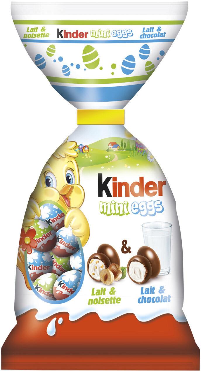 Kinder mix mini eggs sachet 250g œufs - Prodotto - fr