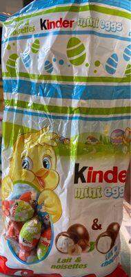 Kinder mix mini eggs sachet 250g œufs - Produit - fr