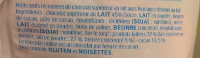 Kinder mix mini eggs sachet 250g œufs - Ingredienti - fr