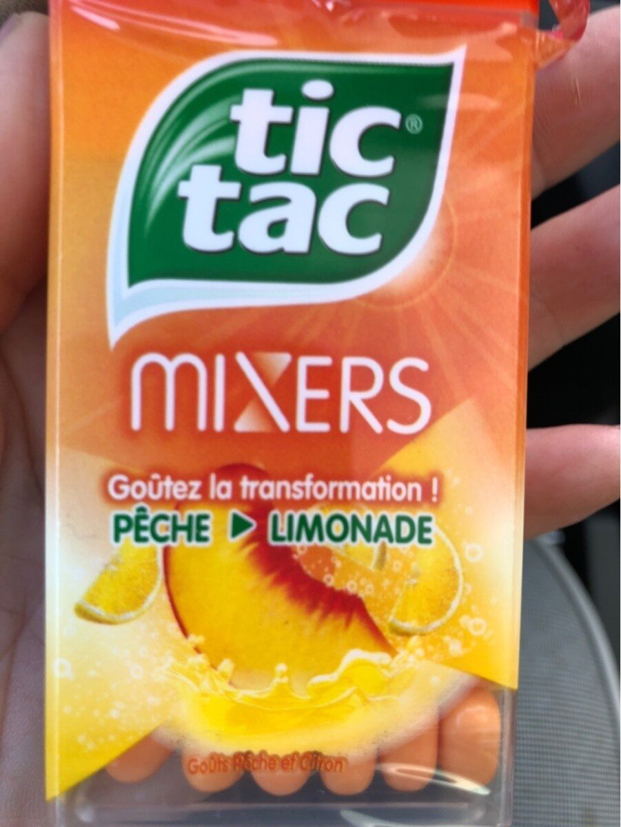 Tic Tac Mixer peche limonade - Produit - fr