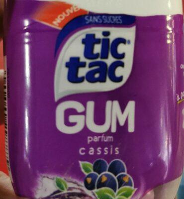 Tic Tac Gum Cassis  Spe - Product - fr