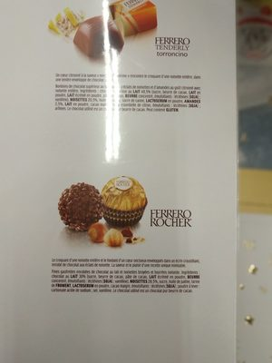 Calendrier avent - Ingredients