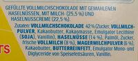 Choco fresh - Ingrediënten - de